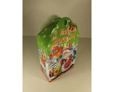 Новогодние коробки для конфет №002а(Небоскребы 700гр) (25 шт)