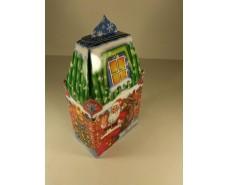 Новогодняя коробка для конфет №004а( Олень 700гр) (25 шт)