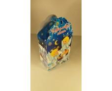 Новогодняя коробка для конфет №016а( Ангелы 700гр) (25 шт)