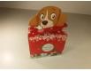 Новогодняя коробка для конфет №017(Песик 500гр) (25 шт)