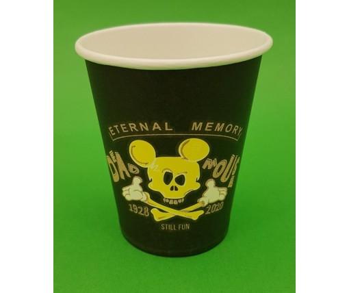 """Бумажный стакан 175мл """"№(I) Dead Mouse Маэстро (50 шт)"""