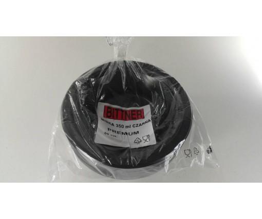 Миска одноразовая пластиковая 350 ml Черная (50 шт)
