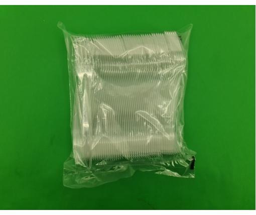 Вилка 180 мм Прозрачная Премиум BITTNER (100 шт)
