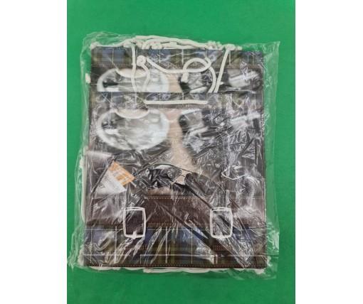 Пакет бумажный подарочный квадратный ы 23*24*10(артKV-087) (12 шт)