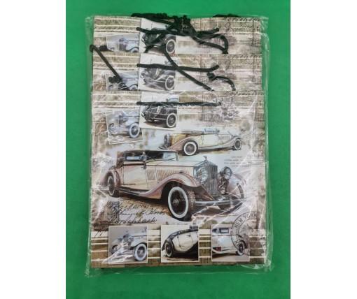 Пакет бумажный подарочный квадратный ы 23*24*10(артKV-089) (12 шт)