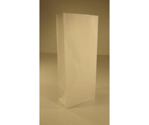 Пакет с дном бумажный 26*11*6  белый №16 (25 шт)