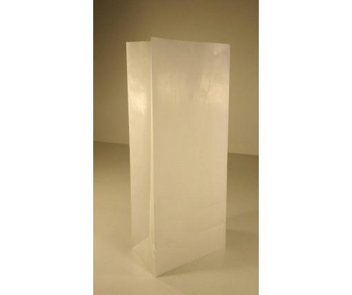 Пакет с дном бумажный 36*15*9  белый №3 (25 шт)