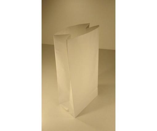 Пакет с дном бумажный 39*19*12  белый №1 (25 шт)