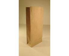 Пакет с дном бумажный 26*11*6  коричневый №14 (25 шт)