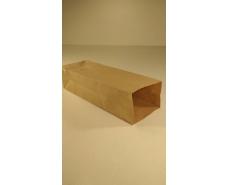 Пакет с дном бумажный 26*9*6,5  коричневый №13 (25 шт)