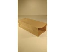 Пакет с дном бумажный 32*13*8,5  коричневый №15 (25 шт)