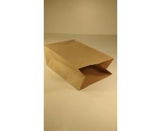 Пакет с дном бумажный 24*15*9  коричневый №11 (25 шт)