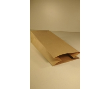 Пакет с дном бумажный 36*15*9  коричневый №10 (25 шт)