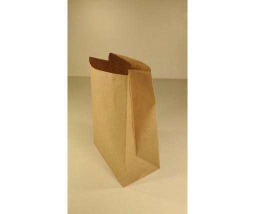 Пакет с дном бумажный 39*19*11,5  коричневый №8 (25 шт)