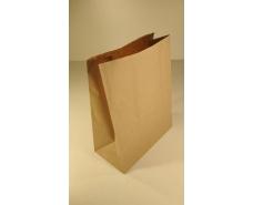 Пакет с дном бумажный 29*23*12  коричневый №5 (25 шт)