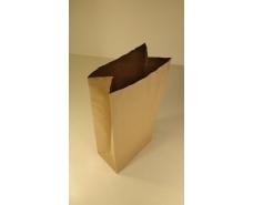Пакет с дном бумажный 41*19*11,5 (двухслойный) коричневый №7 (25 шт)