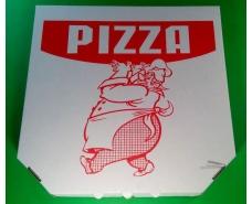 Коробка под пиццу 32см c печатью Pizza (100 шт)