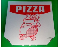 Упаковка под пиццу 35см c печатью Pizza (100 шт)