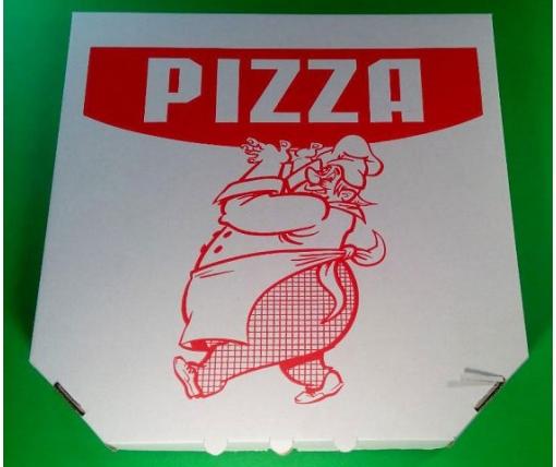 Коробка для пиццы 41см c печатью Pizza  (50 шт)