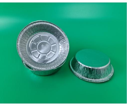 Круглая, пещевая, алюминиевая форма 800мл SPТ51 100шт  (1 пачка)