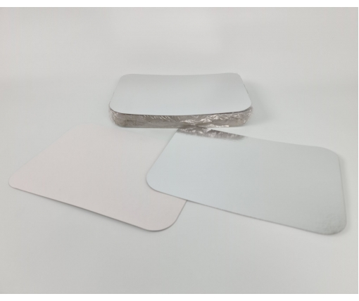 ᐉ Крышка на алюминиевый контейнер на форму артикул SP88L 50 штук  (1 пач)
