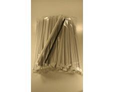 Трубочка d6.8-21см в индивид. упаковке Черная  (200 шт)