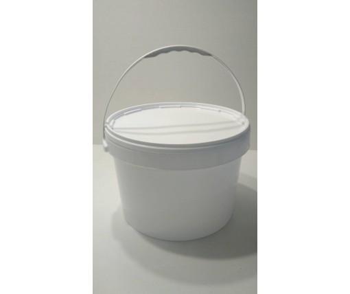 Емкость для пищевых продуктов с крышкой 15,7 л белое