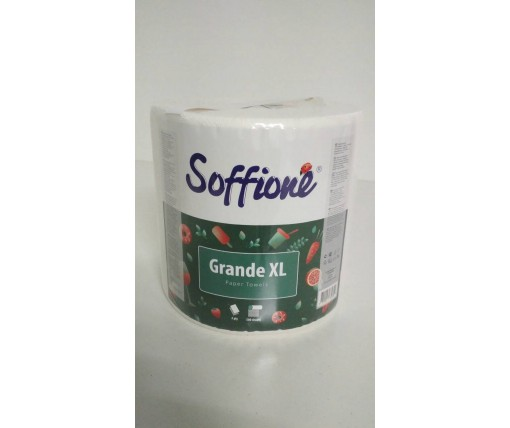 Кухонное полотенце (а1) SoffiPRO Grande XL (2х слойное) (1 пач)