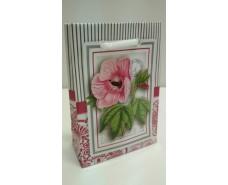 Пакет бумажный подарочный  МИНИ 8*12*3.5 арт61 (12 шт)