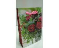 Пакет бумажный подарочный  МИНИ 8*12*3.5 арт54 (12 шт)