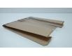 Пакет бумажный с ПП окном (120мм) 19,6/8*22 коричневый (1000 шт)