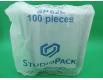 ᐉ Контейнер алюминиевый прямоугольный 900 мл SP62L100 штук (1 пач)