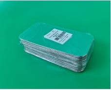 Крышка на контейнер алюминиевый 100шт На форму артикул SP62L (1 пач)