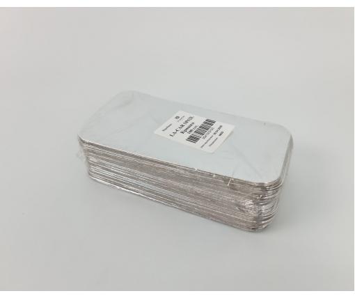 Крышка из картона ламинированного на контейнер SP62L 100шт   (1 пачка)