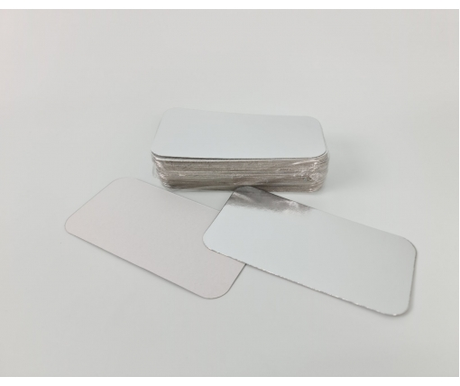 ᐉ Крышка на контейнер алюминиевый 100шт На форму артикул SP62L (1 пач)
