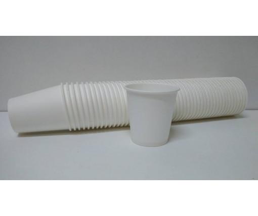 Бумажный стакан 110мл Белый (FC) (50 шт)