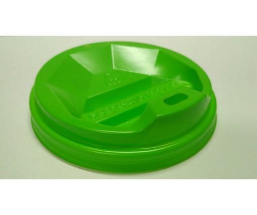 Крышка для стакана  бумажный  Ф75 (гар) зеленая  Киев (50 шт)