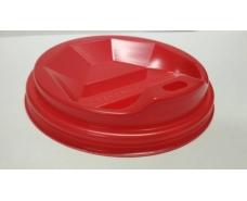 Крышка для стакана  бумажный  Ф79 (гар) красная  Киев (50 шт)