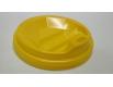 Крышка под стакан  бумажный  Ф91 (гар) желтая Киев (50 шт)