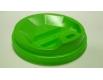 Крышка под стакан  бумажный  Ф91(гар) зеленая  Киев (50 шт)