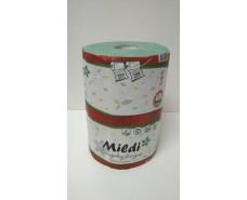 """Полотенце для туалета  Каховинка """"Mildi"""" 215*160/45 (1 слой) PREMIUM зеленое (1 шт)"""