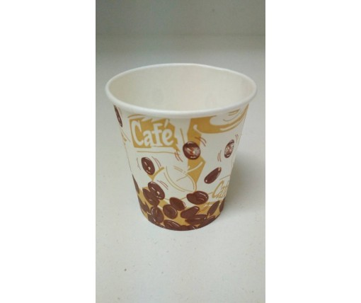 Бумажный стакан 175 мл  цветной NEW (50 шт)