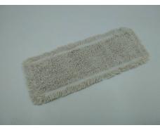 Моп петлевой из хлопка для влажной уборки, карманы/ленты, 50х16 см (1 пач)