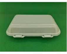 Ланч-бокс из вспененного полистирола с крышкой (246*150*60) белый HP-10   (250 шт)