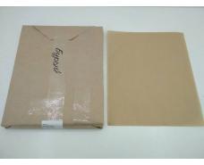 Бумага жиронепроницаемая бурая  ф. 280х350 мм плотность 40 г / м2 (1 пачка)