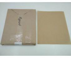 Бумага жиронепроницаемая бурая  ф. 280х350 мм плотность 40 г / м2 (1 пач)