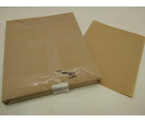 Бумага жиронепроницаемая бурая  ф. 420х350  мм плотность 40 г / м2 (1 пач)