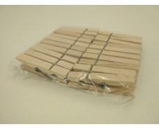 Прищепка деревянная  20шт  (1 уп.)