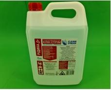 """Средство для дезинфекции рук """"CLEAN STREAM"""" жидкая форма 5 литр (1 шт)"""