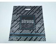 """Пакет с прорезной ручкой (45*53+)""""Strong"""" Леоми (50 шт)"""